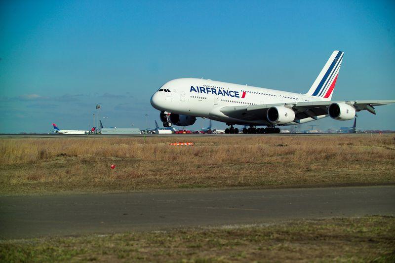 A380 LLEGADA NYC